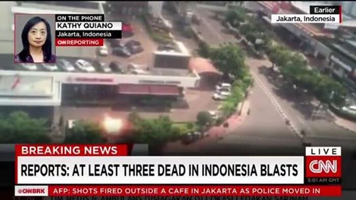 4 People Dead After Jakarta, Indonesia Attacks